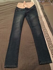 2x Maternity jeans size 8 West Lakes Shore Charles Sturt Area Preview