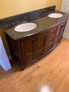 """61"""" Foremost double sink vanity. Brand new"""