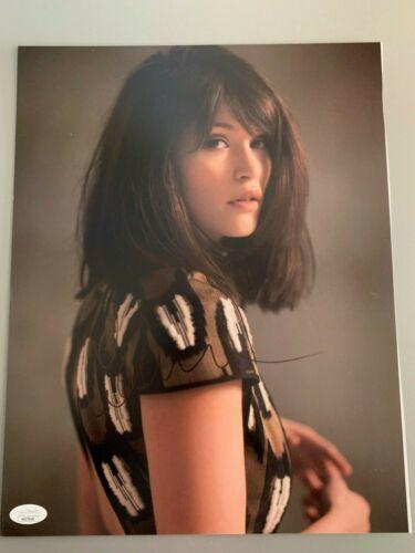 Sexy Gemma Arterton Autographed Signed 11x14 Photo JSA COA