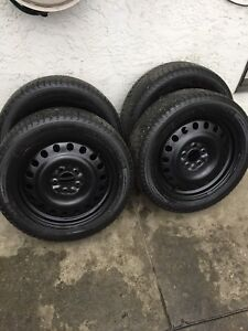 Set of four 225/50/17 Michelin Winter Package!
