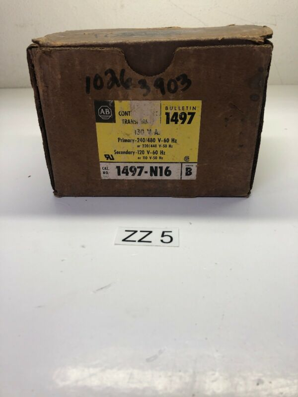 New Allen Bradley Transformer 1497-N16 B *Fast Shipping*