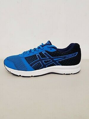 Men's Asics Patriot 8 Blue Trainers Size UK 8,5/EUR 42,5