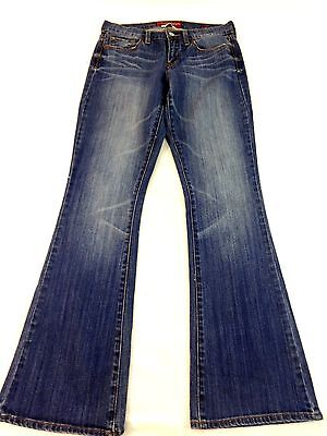 LUCKY BRAND WOMENS COTTON BLEND MED WASH SOFIA BOOT CUT JEANS SIZE 6/28