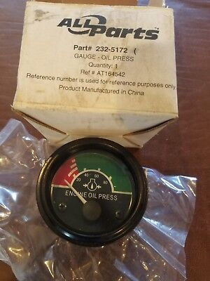 Fits John Deere Caterpillar Oil Pressure Gauge At164542 All Parts 232-5172