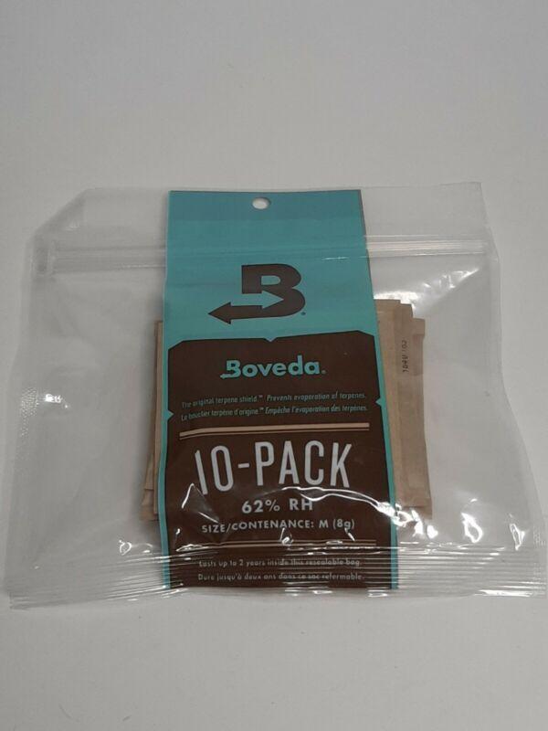 Boveda Original Terpene Shield (10/Pack) 8g 2-Way Humidity 62% RH Free Shipping