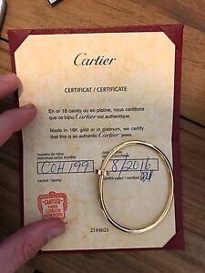 Cartier Juste un clou / Nail bracelet - 4 Months OLD Melbourne CBD Melbourne City Preview