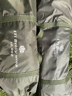 Dave Lane STI JRC Brolly Bivvy 10,000mm With Wrap. Bought New And Never Used.
