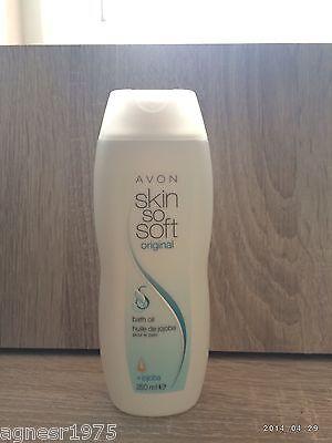 (1,74€/100ml) Avon Skin So Soft Original Badeöl mit Jojoba