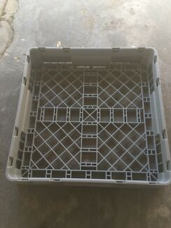 Commercial dishwasher loading tray