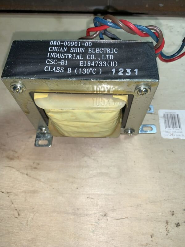 Chuan Shun Electric Industrial Co. Ltd.  080-00901-00 Class B Transformer