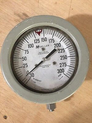 Moeller Compound Pressure Vacuum Gauge Pn Sc4mc3hcwronag 6 Steampunk