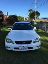 Lexus IS200 Sports Luxury Auto 2003 for Sale Tullamarine Hume Area Preview