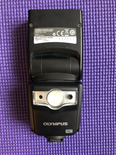 Parts Only Olympus FL 600R Shoe Mount Flash For Olympus - Doesn t Turn On - $0.99