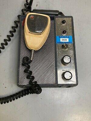 Vintage Motorola Transit Dispatcher Railroad Control Unit Nycta Collector Item