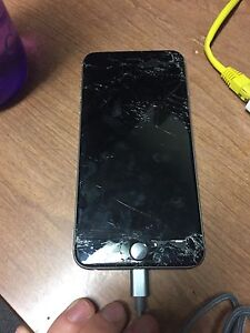 iPhone 6 Plus 64GB With Broken Screen London Ontario image 2