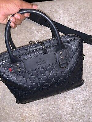 Gucci GG Guccissima Neoprene Briefcase/laptop bag $2200 Authentic for sale  Racine