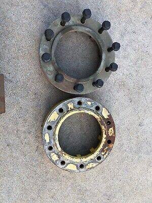 John Deere Jd Tractor Combine Wheel Spacer 10 Lug Used Set Of 2 H208150 H171451