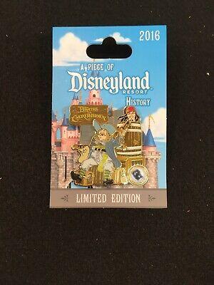 Disney Pin Disneyland Piece of History Pirates of the Caribbean Jack Sparrow A5