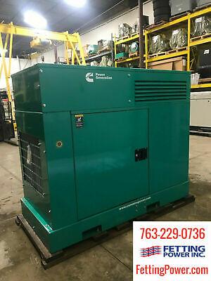 New 25kw Cummins Stationary Diesel Generator Dskca 120240v Sn L140772928