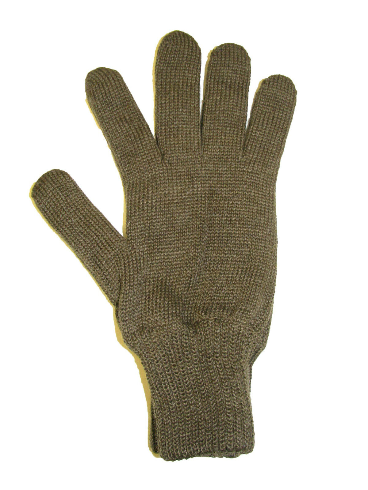 Genuine CZECH Army Issue Combat Winter Knitted Wool Gloves