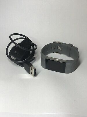 Fitbit Charge 2 - Heart Rate Fitness Wristband - Gray (Small)