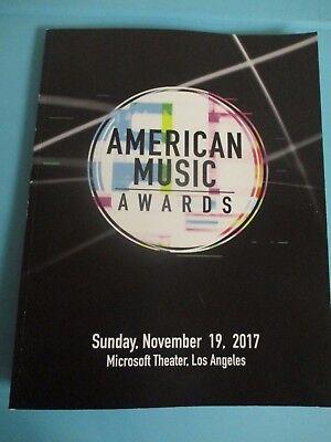 2017 American Music AWARDS Program AMAs Keith Urban  BTS Justin Bieber Drake