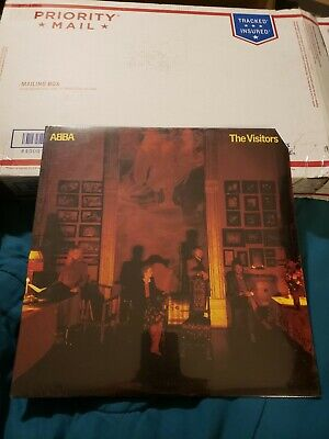 ~NEW FACTORY SEALED~ 1981 ABBA THE VISITORS LP VINYL SD 19332 ~R5
