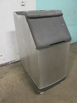 Manitowoc S-420 H.d. Commercial Nsf Open-top Ice Storage Bin On Casters