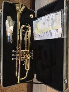 Like new Trumpet with case.
