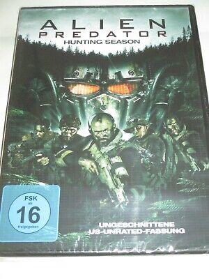 Alien Predator - Hunting Season - DVD/NEU/OVP/Action-SciFi-Horror/unrated