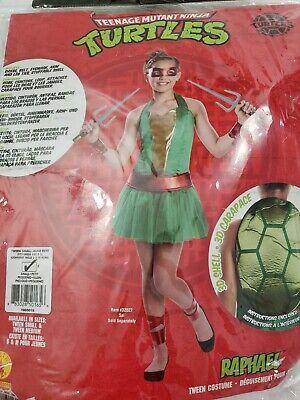 Teenage Mutant Ninja Turtles Costumes For Girls (Girls Teenage Mutant Ninja Turtles Halloween Costume Raphael  Size S)