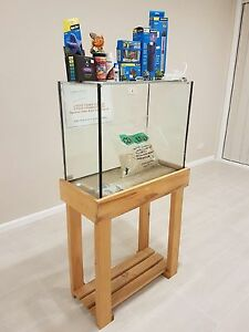 Brand new 2ft Fish tank with stand and all brand new accessories Campbelltown Campbelltown Area Preview
