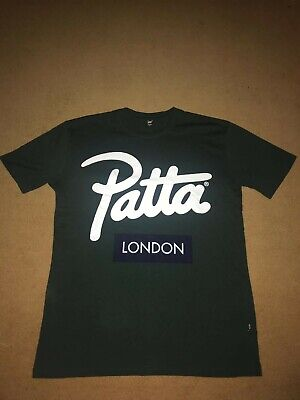 Patta 'London Store Opening' T-Shirt Forest Green: Size M tweedehands  Nederland