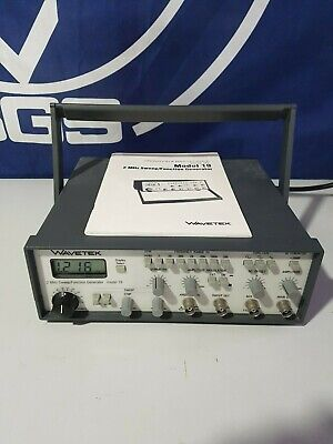 Wavetek Model 19 - 2mhz Sweepfunction Generator