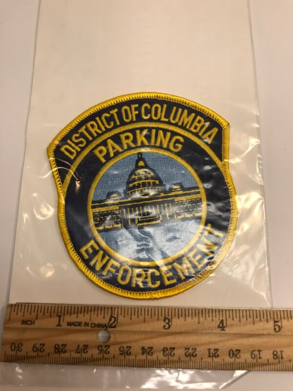 District Of Columbia Parking Enforcement Patch New