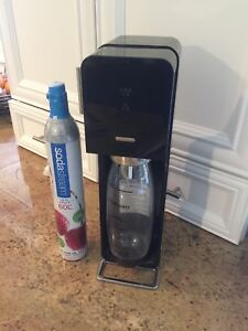 Sodastream with Carbonated refill canister