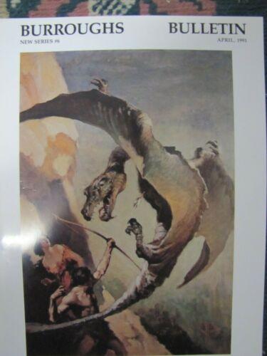 Burroughs Bulletin New Series # 6 April 1991-Edgar Rice Burroughs