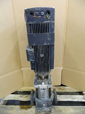 Grundfos 4kw 4 Kw 5hp 5 Hp Ss Stainless In-line Pump 380-480v Cre16-30 80gpm