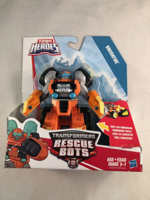 Playskool Transformers Rescue Bots Brushfire