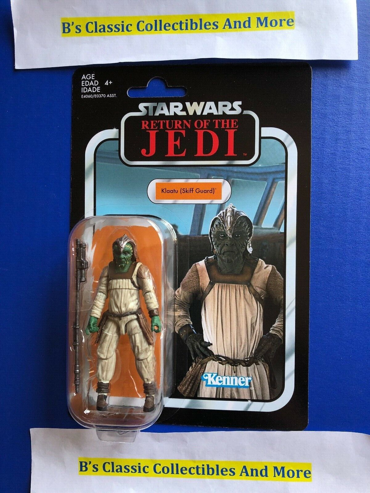 "Klaatu skiff guard /""ROTJ/"" vc135 Star Wars The Vintage Collection 2018 de Hasbro"