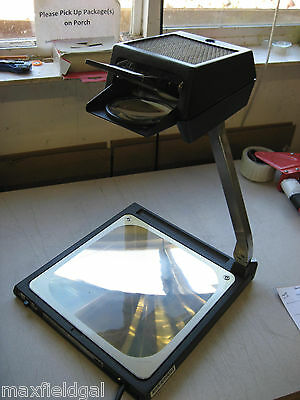 Used 3m Fuse O Eighty Eight 88 Bgc Portable Overhead Projector Hard Case Wwa