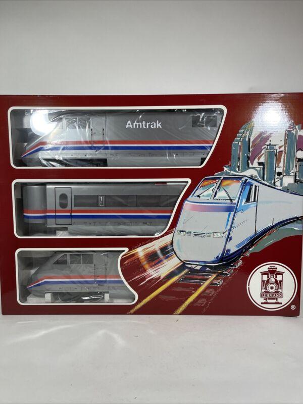 LGB 91950 Amtrack ABA High Speed Train Set G Gauge NOS Hard to Find