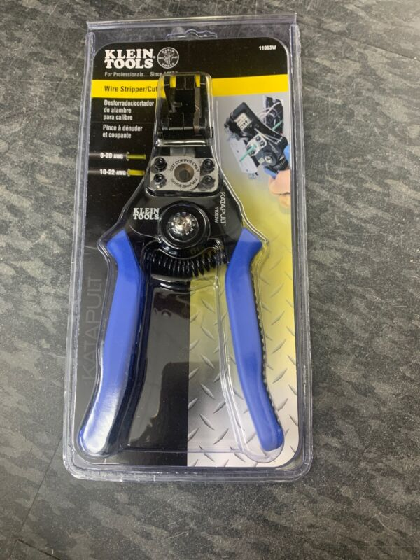 Klein Tools Auto Wire Cutter and Stripper BRAND NEW 11063W