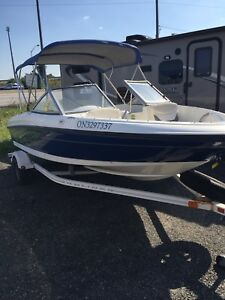 2007 Bayliner 175 With 135 hp Mercury