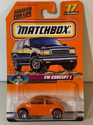 MATTEL MATCHBOX - VOLKSWAGEN VW CONCEPT 1 - Cool Concepts  #17 - New in Package