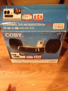 Coby DVD Microsystem for iPod