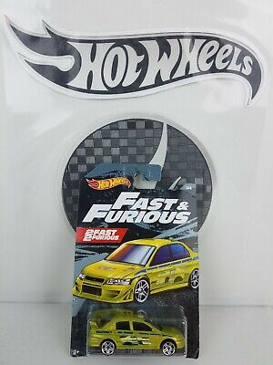 2019 Hot Wheels Fast & Furious 2Fast 2Furious 3/6 Mitsubishi Lancer Evolution