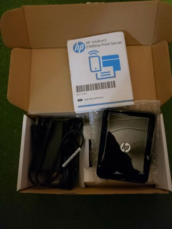 New/Open Box HP Jetdirect 2900nw Print Server