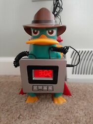 Disney Alarm Clock Radio Perry The Platypus Kids Alarminator Phineas And Ferb