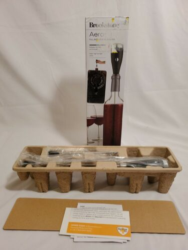 *NEW* Brookstone Aero Wine Aerator Full Bottle Wine Aerator/